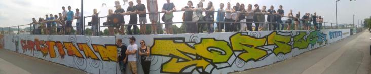 Christian_Doppler_Symposium_Schueleraustausch_Graffiti