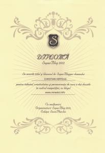 Diploma SuperBlog 2012