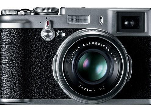 Fujifilm FinePix X100. Eine klassische Kamera. Foto: Fujifilm
