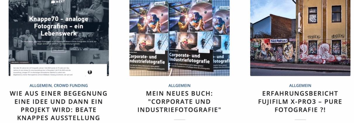 Industriefotograf Christian Ahrens bloggt über professionelle Fotografie