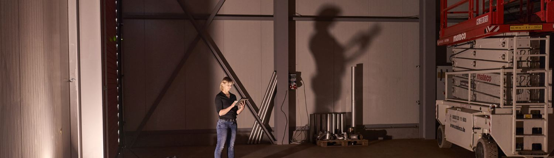 Industriefotograf im Einsatz: