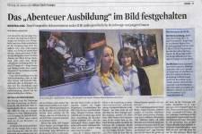 Pressespiegel Abenteuer Ausbildung 2013