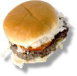 Hamburger. Illustration copyrighted.