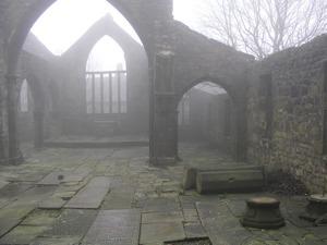 """Misty Church"" - Broken church"