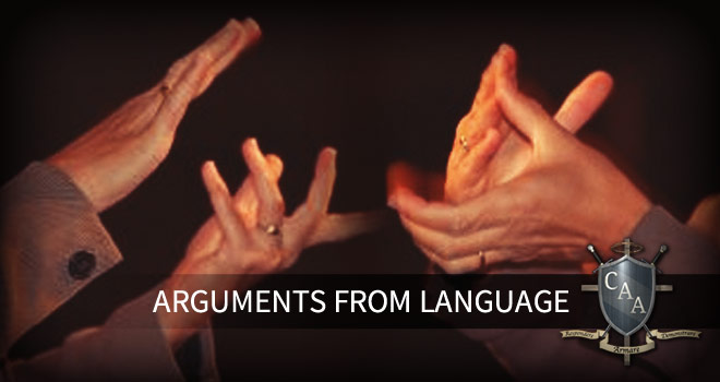 Arguments-from-Language