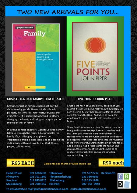 Gospel Centred Family & Five Points March 2014