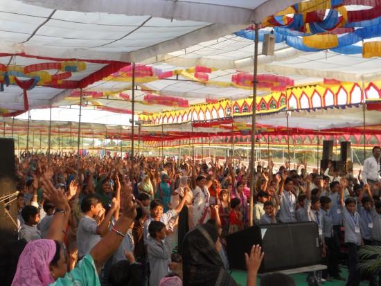 Praising God in India