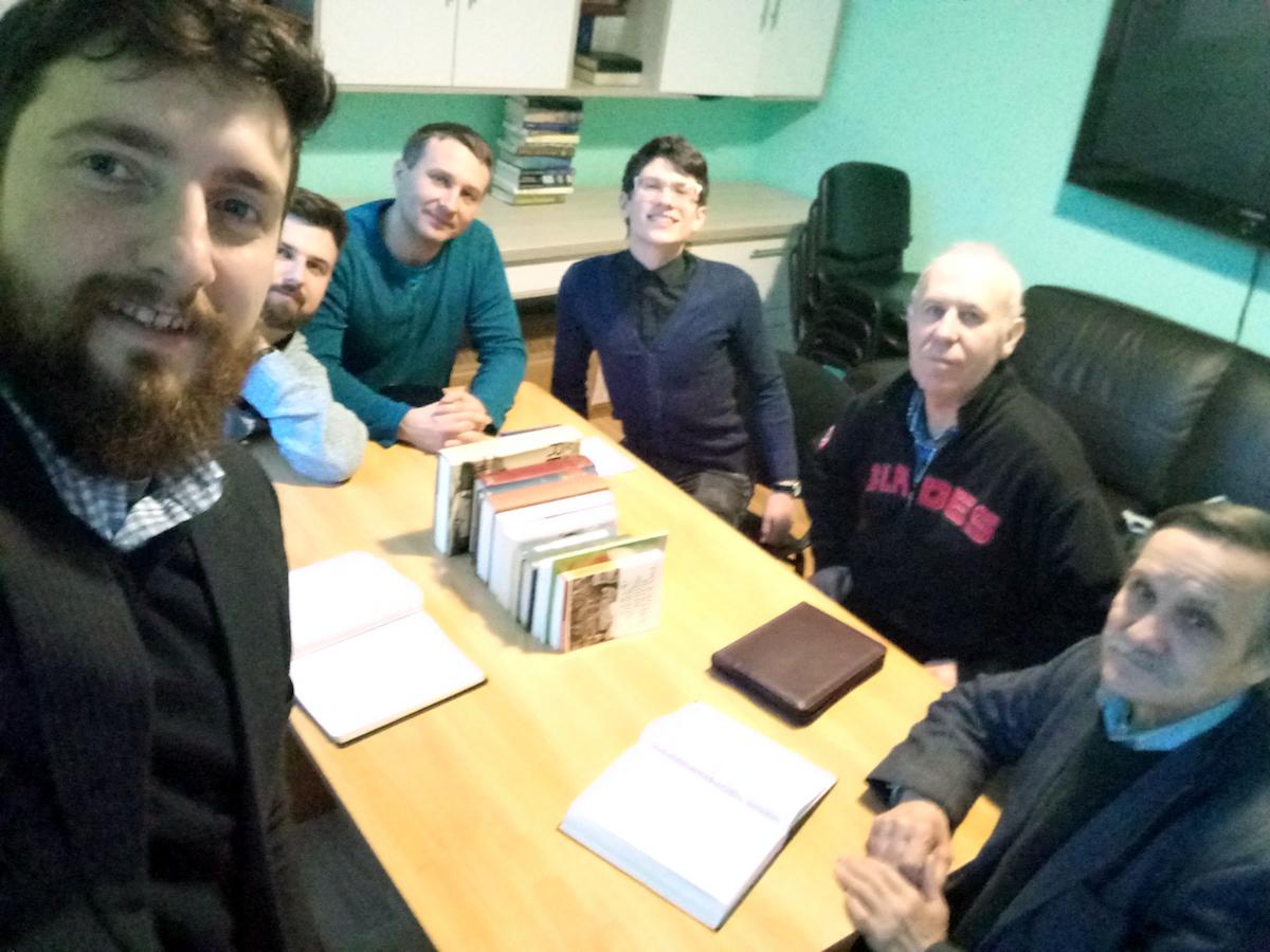 Prayer Meeting in Ukraine