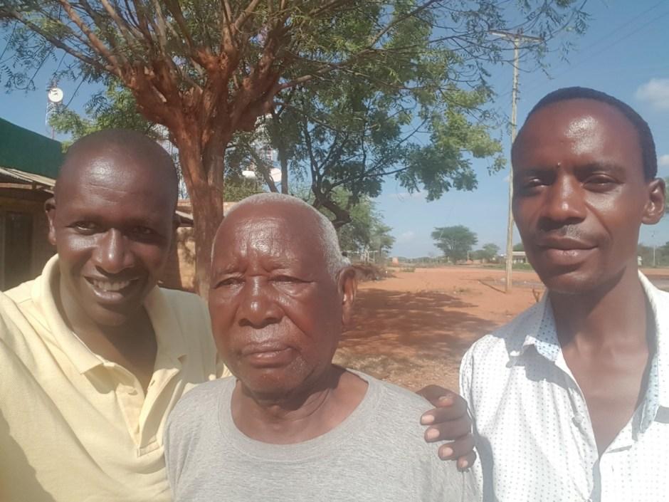 Three Kenyan men