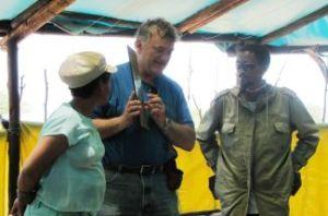 Pastor Bill January 2013 in Africa
