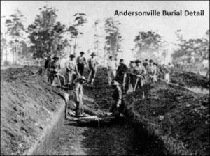 Andersonville Burial Detail 1483