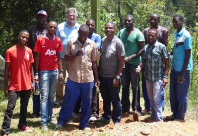 Cross planting team