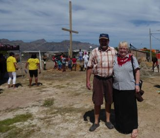 ccm volunteers Johan and Esther They have helped us with Crosses in South Africa, Mozambique and Malawi
