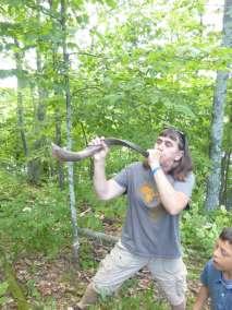 Celebrating with the shofar