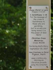 Plaque Declaring God's Glory over Haiti
