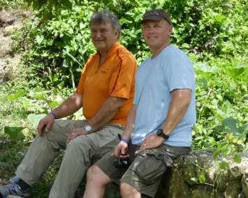 Pastor Bill and Jim Teal