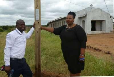 Pastor Godfrey with wife Suwnita
