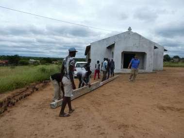 Removing Cross from EPWC church (Evangelical Prayer & Worship Center)