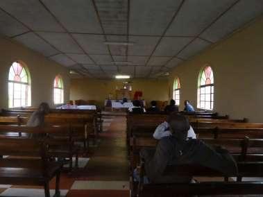 Church scantuary