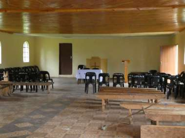Inside New Church Building