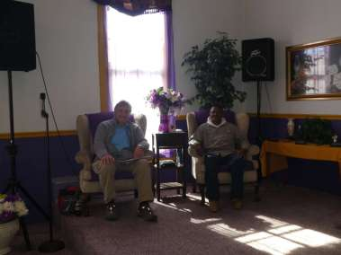 Apostle Berry interviewed by Pastor Bill