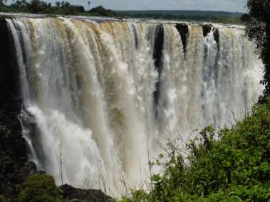 Vic Falls 5,604 ft width-354 ft Height - Google it to see more