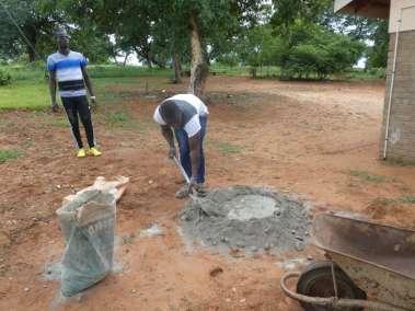 Mixing Concrete