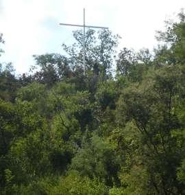 View Of Cross From Below