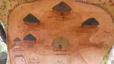 Traditional Swazi Village Will Be Constructed Beneath The Cross