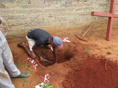 Preparing the Hole