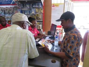 Zimbabwe Cross Planter Sharky buying New Drill Bits