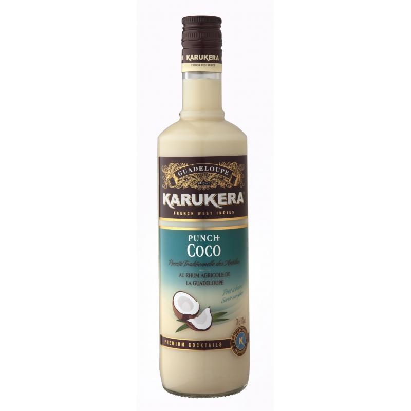 rhum karukera punch au rhum coco guadeloupe christian de montaguere
