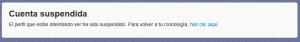 cuenta suspendida 300x42 Twitter suspende cuentas legítimas y cómo resolverlo #cuentasSuspendidas [Actualizado 08 2013]