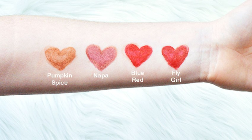 5 Holiday Lip Colors: LipSence Review + Giveaway