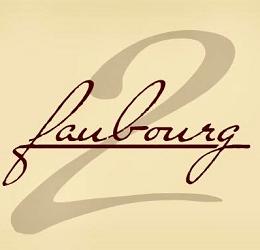 le logo du restaurant 2 Faubourg
