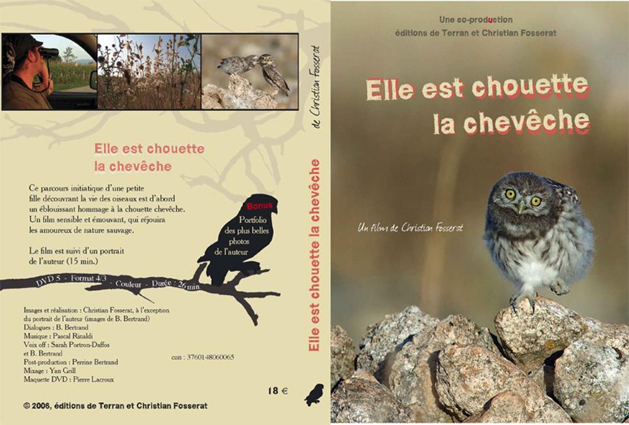 """DVD """"Elle est chouette la chevêche"""""""