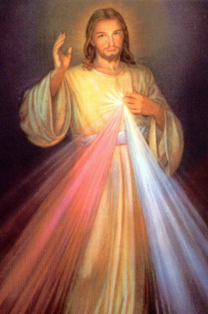 Image result for jesus with glowing heart