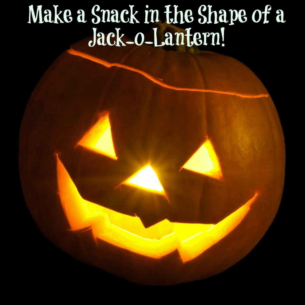 Children S Church Snack Halloween Jack O Lantern Cheese