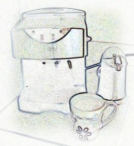 Vanilla Latte, Iced Latte