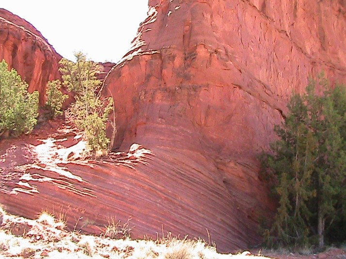 Red rocks of Jemez Springs