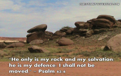 Bible Verse Photo: Psalm 62:6
