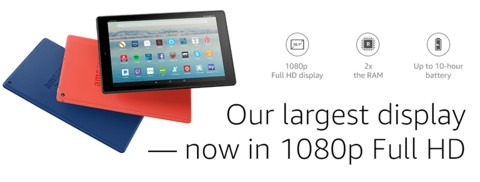 All-New Fire HD 10 tablet: Pre-Order Promotion