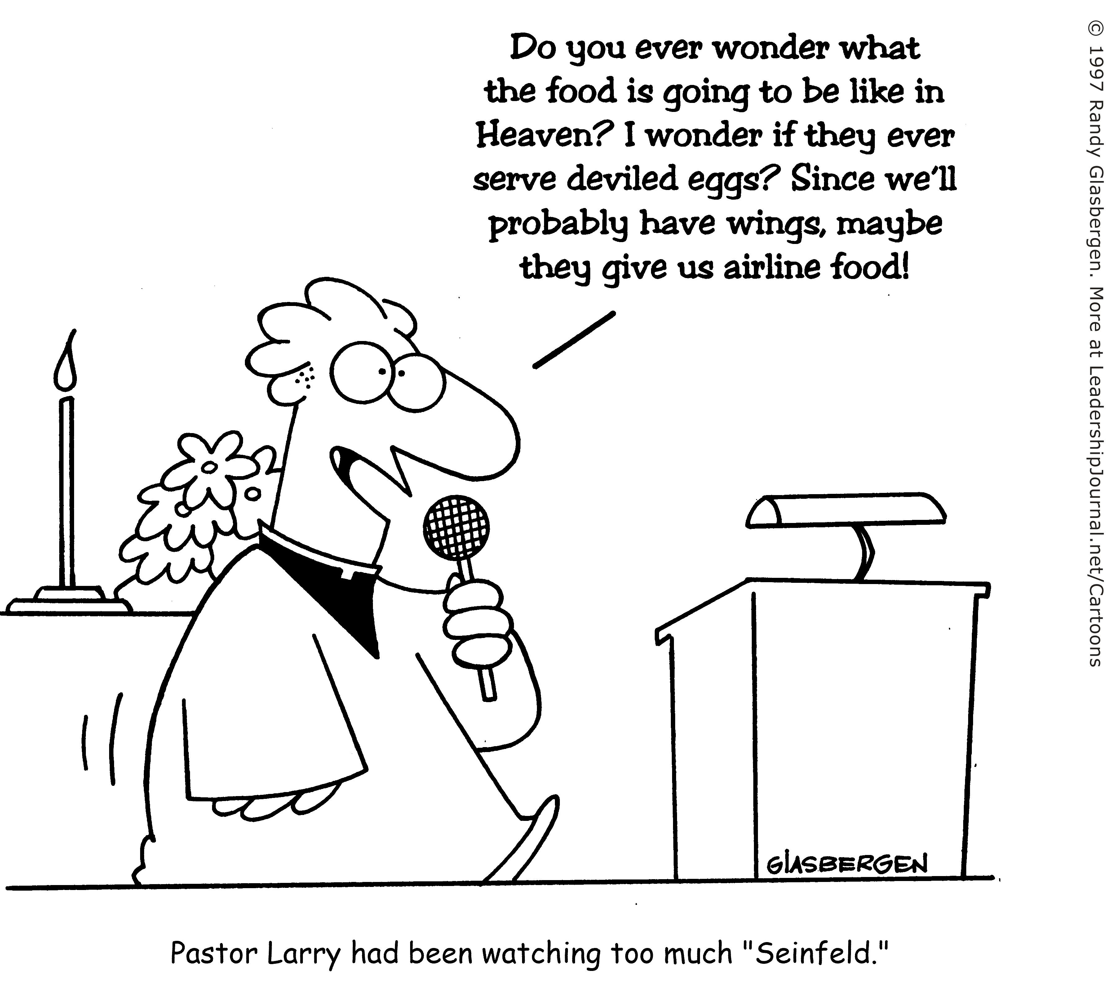 When The Preacher Is A Comic Ct Pastors