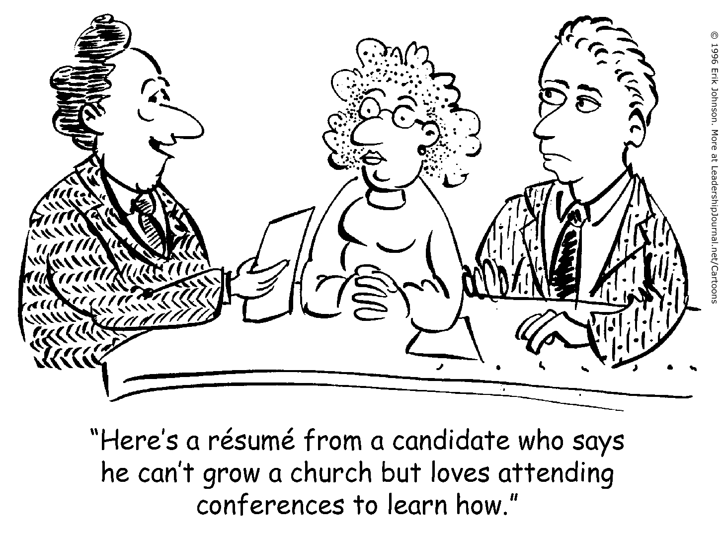Ineffective Church Growth Conferences