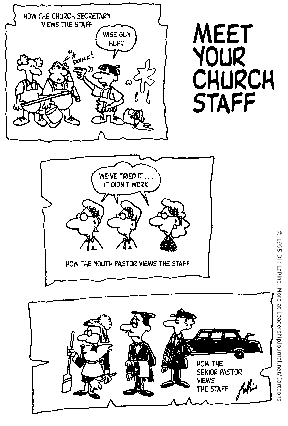 How People View Church Staff