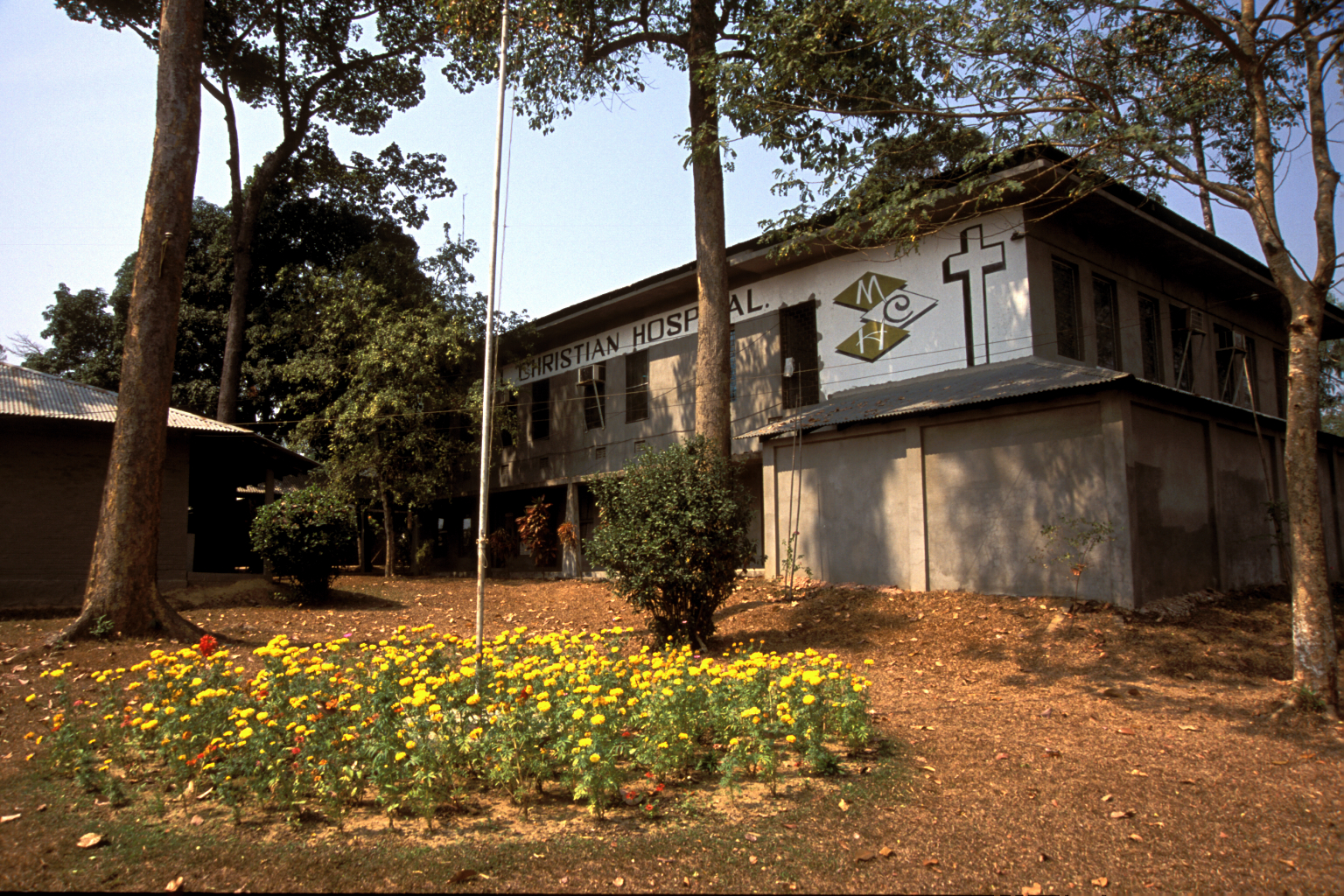 Memorial Christian Hospital in Malumghat, Bangladesh