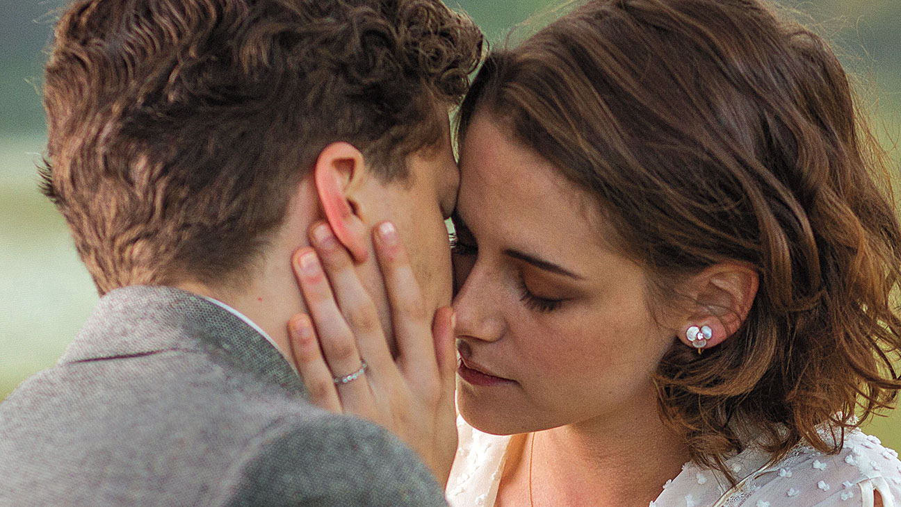 Jesse Eisenberg and Kristen Stewart in 'Cafe Society'