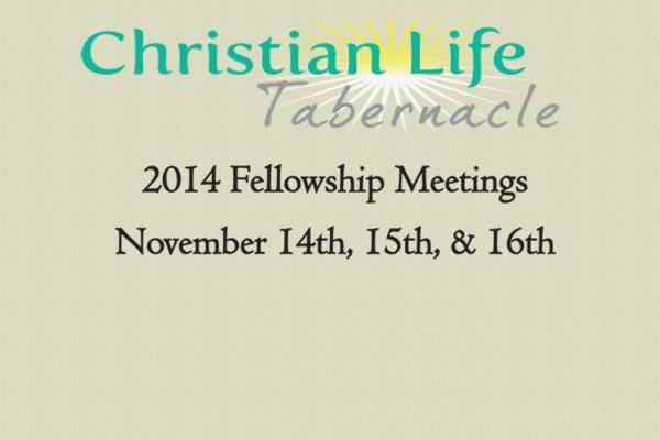 2014 Fellowship Meetings