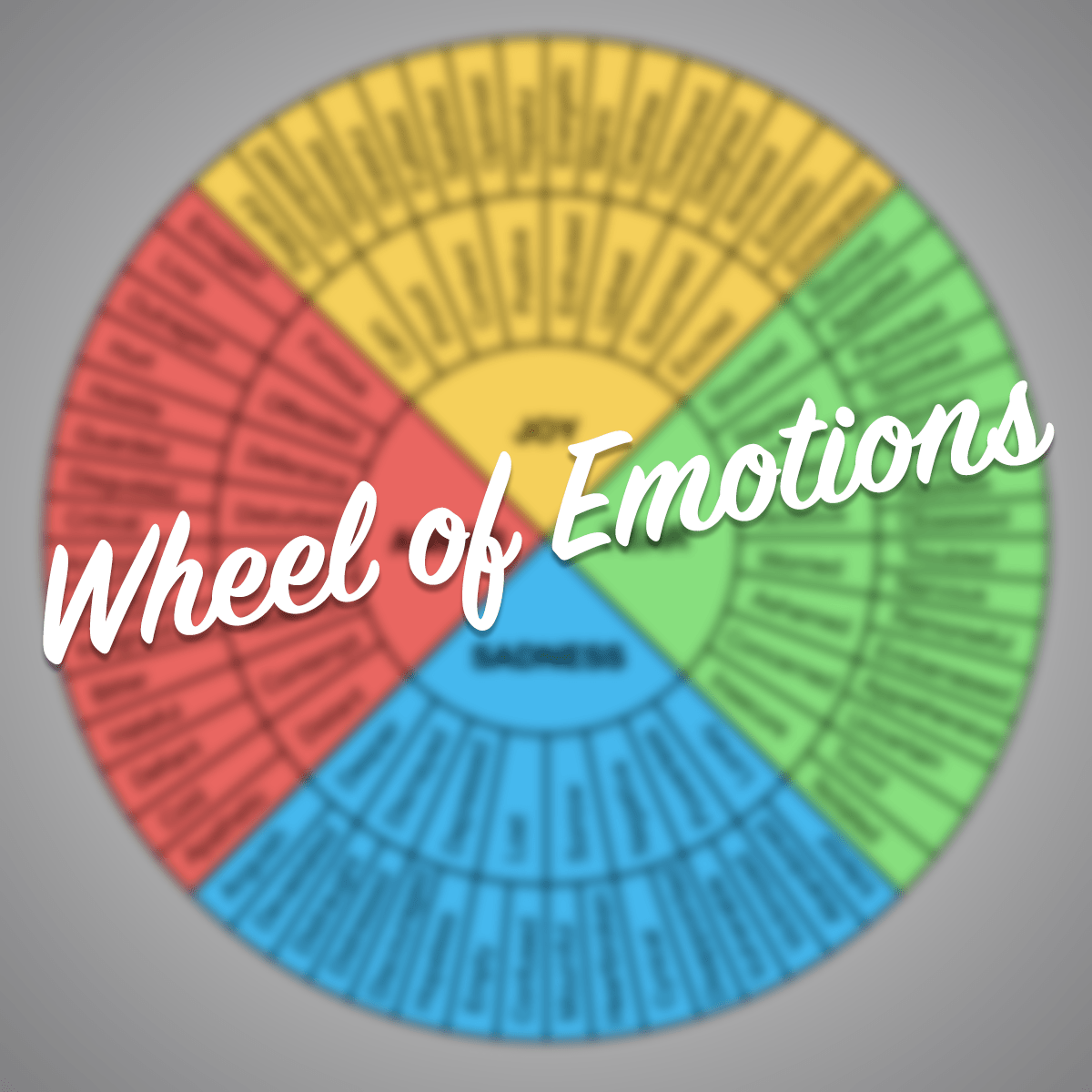 Wheel Of Emotions Worksheet