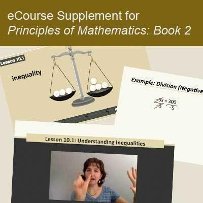 Principles of Mathematics eCourse